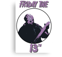 Jason Friday The 13th Canvas Print