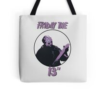 Jason Friday The 13th Tote Bag