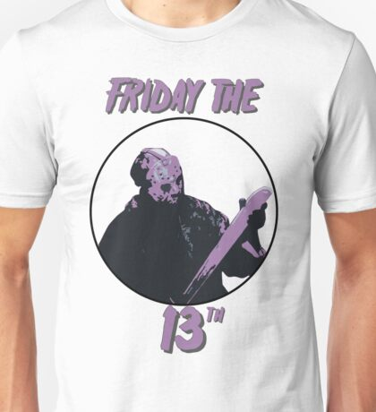 Jason Friday The 13th Unisex T-Shirt