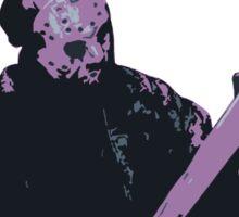 Jason Friday The 13th Sticker