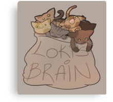 Loki's Brain Canvas Print