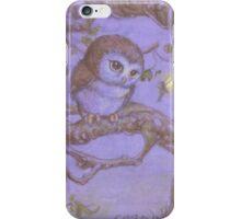 Perriwinkle Owl iPhone Case/Skin