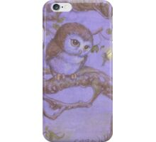 Perriwinkle Owl iPhone Case/Skin