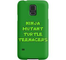 Ninja Mutant Turtle Teenagers Samsung Galaxy Case/Skin