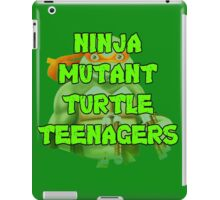 Ninja Mutant Turtle Teenagers Michelangelo iPad Case/Skin