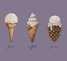 Ice-Cream Cones Kids Tee