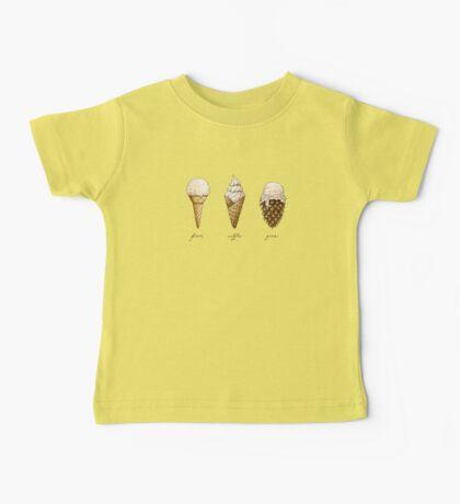 Ice-Cream Cones Baby Tee