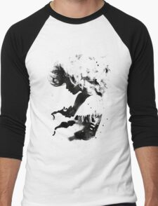 Black Cloud Men's Baseball ¾ T-Shirt