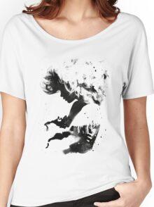 Black Cloud Women's Relaxed Fit T-Shirt