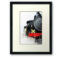 Steaming Up Framed Print