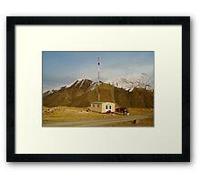 Panjshir Radio Framed Print