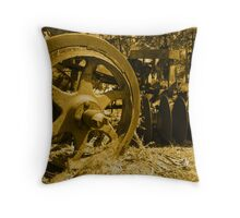 The Old Plough. Throw Pillow