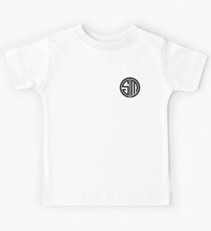 Team SoloMid (Black on White) Kids Tee