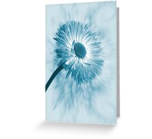 Blue Belle Greeting Card