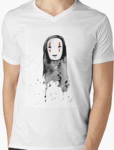 No-Face Painting - Studio Ghibli Mens V-Neck T-Shirt