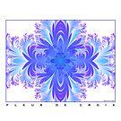 Fleur de Croix Violet by Susan Sowers