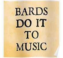 d20 Scoundrels: Bards Do It To Music Poster