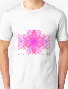 Fleur de Croix Fuchsia Unisex T-Shirt