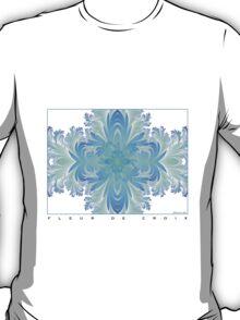 Fleur de Croix Aqua T-Shirt
