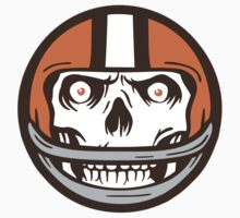 Cleveland Browns Skull Icon by WeBleedOhio