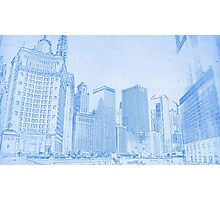 Chicago Downtown Architecture Photographic Print