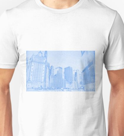 Chicago Downtown Architecture Unisex T-Shirt