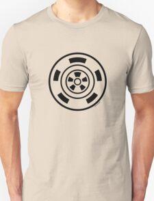 Mandala 21 Back In Black Unisex T-Shirt