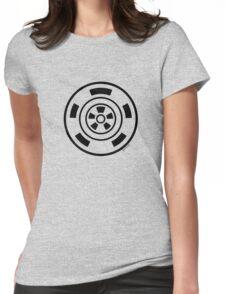 Mandala 21 Back In Black Womens Fitted T-Shirt