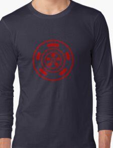 Mandala 21 Colour Me Red Long Sleeve T-Shirt
