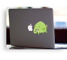 Mac Sticker - How's That Apple? - Tree Trunks Canvas Print
