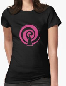 Mandala 9 Pretty In Pink Womens Fitted T-Shirt