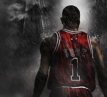 Derrick Rose Chicago Bulls by Givens87