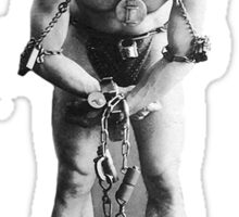 Houdini Chains and Cuffs Excite Me Sticker