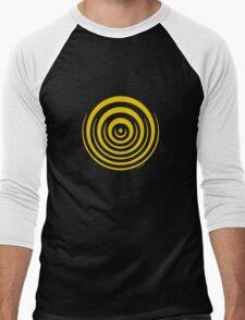Mandala 16 Yellow Fever Men's Baseball ¾ T-Shirt
