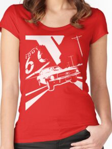 Mustang Women's Fitted Scoop T-Shirt