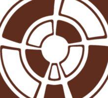 Mandala 25 Chocol'Art Sticker