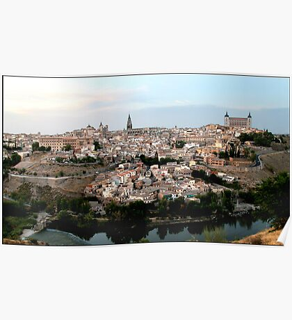 The Spanish City of Toledo Poster