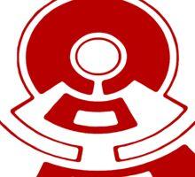 Mandala 23 Colour Me Red Sticker