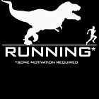 Running - Some Motivation Required White by cpotter