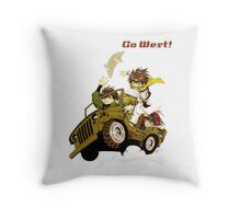 Saiyuki Throw Pillow