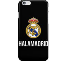 REAL MADRID FAN iPhone Case/Skin