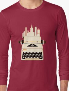Typewrite a City Long Sleeve T-Shirt
