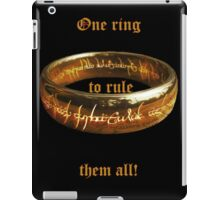 The One Ring iPad Case/Skin