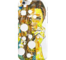LAYERS Original Acrylic Painting iPhone Case/Skin