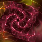 Spiral fractal of light by 4Flexiway