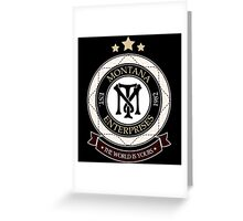 Montana Enterprises Co Greeting Card
