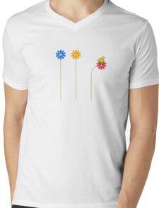 FAT Bumble mix T Shirt Mens V-Neck T-Shirt