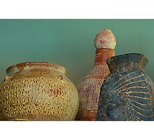 Pottery from the Past Photographic Print