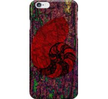 Abstract  Nautilus iPhone Case/Skin
