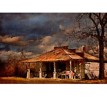 Turnbo's Store - Three Brothers Arkansas Photographic Print